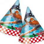 6 Disney Planes Partyhütchen