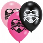 6 Monster High Ballons