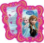 6 Einladungskarten Frozen die Eiskönigin