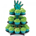 Muffins Etagere Zombies