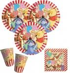 52 Teile Disney Winnie Puuh Party Deko Basis Set - für 16 Kinder