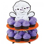 Halloween Muffin Etagere Mumie