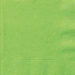 20 kleine Servietten Hellgrün