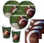 50 Teile Football Superbowl Party Deko Set 16 Personen
