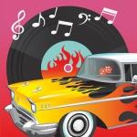 16 Servietten 50er Jahre Rock'n Roll Motto Party