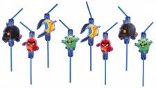 8 Trinkhalme Angry Birds Movie