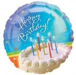 Geburtstagstorte Folien Ballon