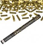Konfetti Kanone Goldene Streifen 60 cm