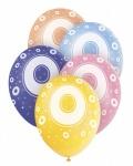 5 Zahlen Luftballons 0