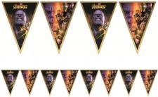 Avengers Infinity War Wimpel Banner