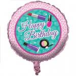 Geburtstags Folien Ballon Beauty Spa Topmodel