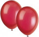 10 Luftballons Rot