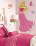 Glitzer Wandsticker Disney Sleeping Beauty