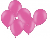 10 Luftballons Pink