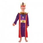 König Kostüm Einheitsgröße ca. 110