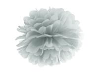 Papier Dekoball Silber 25 cm Durchmesser PomPom