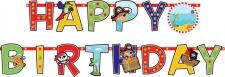 kleine Piraten Geburtstags Girlande