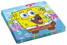 20 Servietten Spongebob