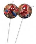 6 Trinkhalme The Amazing Spiderman