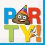 16 Servietten Emoji Fun