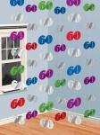 60. Geburtstag Tür und Wand Dekoration