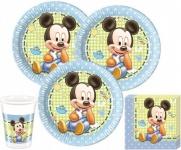 52 Teile Disney Baby Micky Party Deko Set für 16 Personen