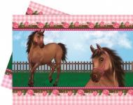 Tischdecke Pink Pony
