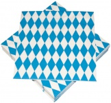 20 Servietten Bavaria Oktoberfest Bayrisch Blau