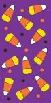 10 Halloween Papier Taschentücher Candycorn