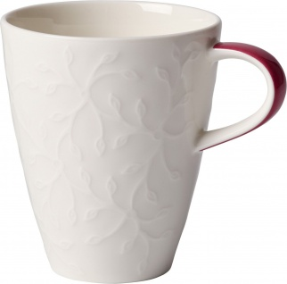 Villeroy & Boch Caffè Club Floral Touch of Rose Becher mit Henkel 0, 35 ltr.