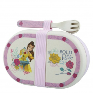 ENESCO Enchanting Disney Belle Organic Snack Box with Cutler A28940