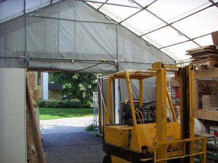 Zelthalle Titanium 7x14x2, 5x4, 2m, Weiß/Grau - Vorschau 2