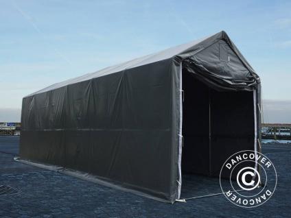 BootszeltZeltgarage Garagenzelt PRO XL 4x12x3, 5x4, 59m, PVC, Grau - Vorschau 2