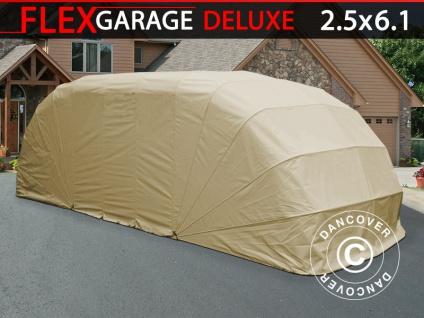 Faltgarage (Auto), ECO, 2, 5x6, 1x2m, beige