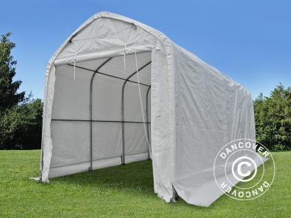 Zelthalle multiGarage Bootszelt 4x14x4, 5x5, 5m, Weiß - Vorschau 3