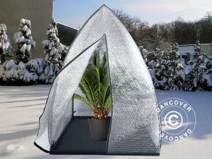 Pflanzen Winterschutz zelt, Igloo, 1, 2x1, 2x1, 8m, Durchsichtig