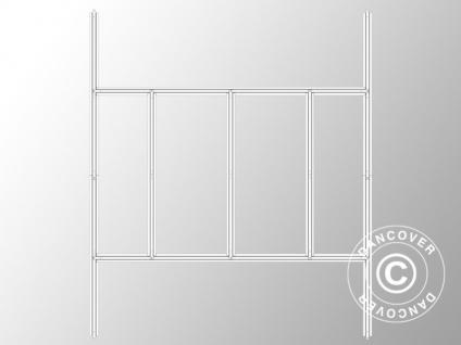 Bodenrahmen für Geräteschuppen Metallgerätehaus, ProShed®, 2, 57x2, 69 m