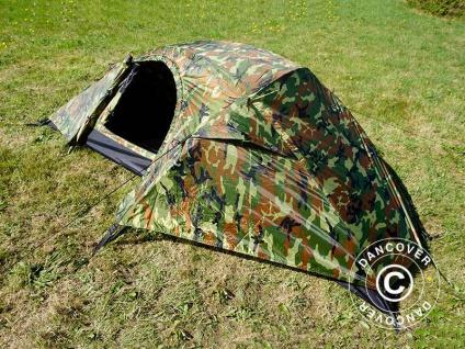 Camouflage-Zelt Woodland RECOM, 1 Person.