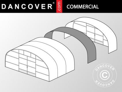Kommerzielles Tunnel-Gewächshaus Erweiterung, 9, 7x2x3, 95m, transparent