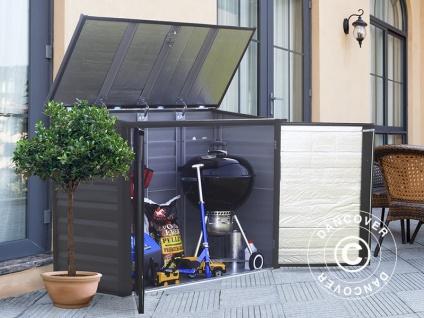 Gartengerätebox Spacemaker 1, 83x0, 75x1, 28m, Anthrazit