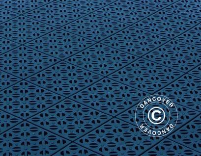 Kunstoffboden, Basic, Multiplate, Blau, 1, 23 m² (4 Stk)