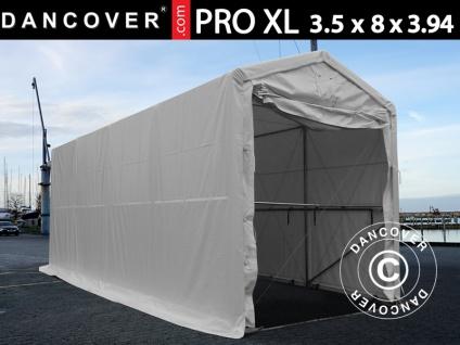 BootszeltZeltgarage Garagenzelt PRO XL 3, 5x8x3, 3x3, 94m, PVC, Weiß - Vorschau 1