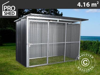 Hundezwinger 2, 6x1, 6x1, 8m ProShed®, Anthrazit