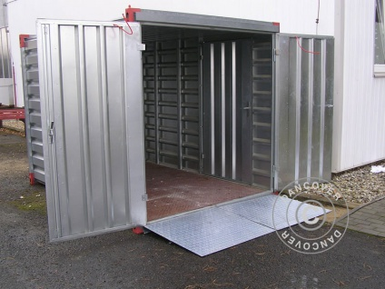 Einfahrtsrampe für Container, 1 St.
