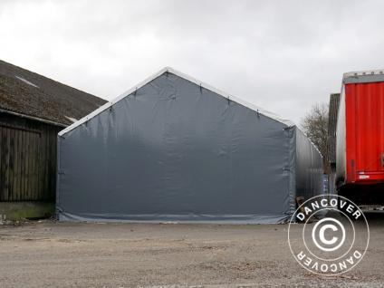Zelthalle Titanium 6x6x3, 5x5, 5m, Weiß / Grau - Vorschau 5