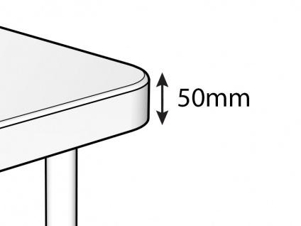 Bankett-Tisch PRO 88x88x74cm, Hellgrau (1 St.) - Vorschau 3