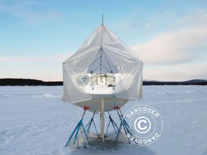 Bootsdeck-Rahmen mit Außenrand für Bootsplane Abdeckplane, NOA, 12m/4