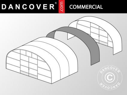 Kommerzielles Tunnel-Gewächshaus Erweiterung, 8, 6x2x3, 95m, transparent