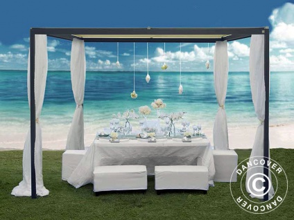 Pavillon pergola Resort 3x3m