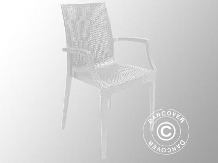 rattan stuhl wei g nstig online kaufen bei yatego. Black Bedroom Furniture Sets. Home Design Ideas